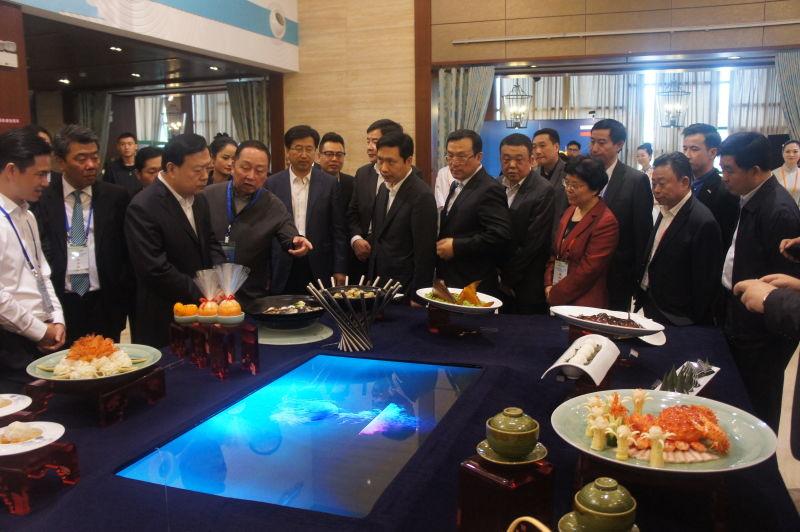 夏宝龙书记出席迎G20峰会杭帮菜菜品及服务技能